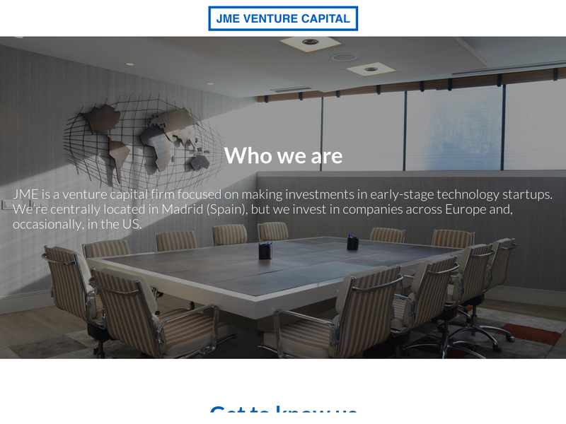 Images from JME Venture Capital