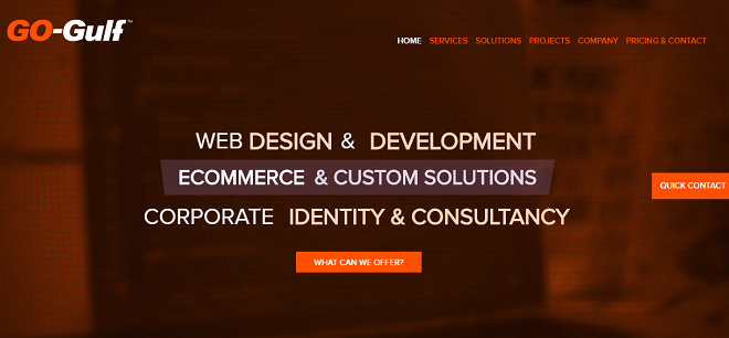 Images from GO-Gulf Web Design Dubai