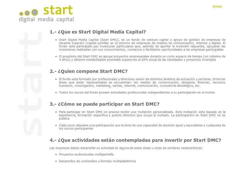 Images from Start Digital Media Capital
