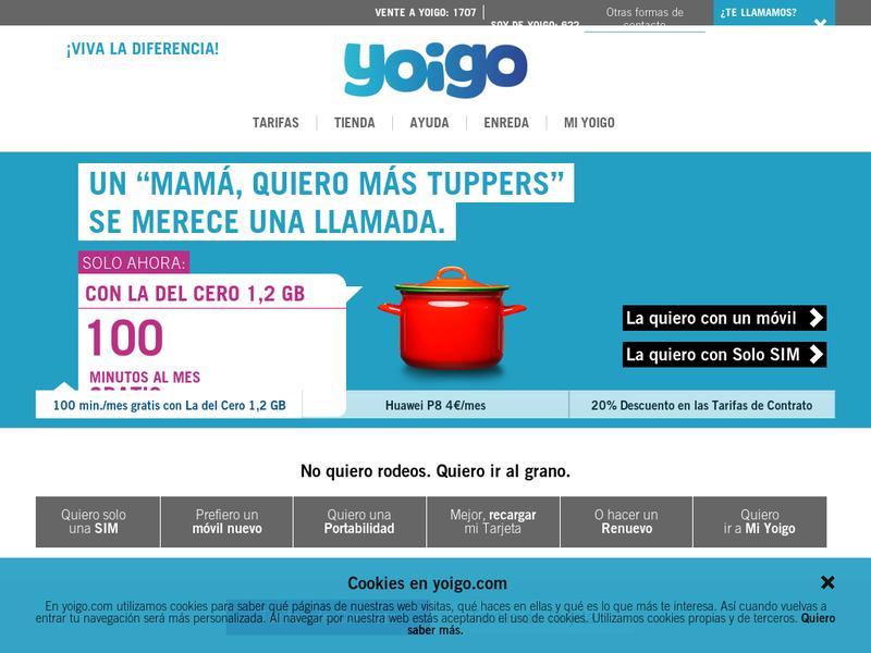 Yoigo su perfil en startupxplore for Oficinas yoigo