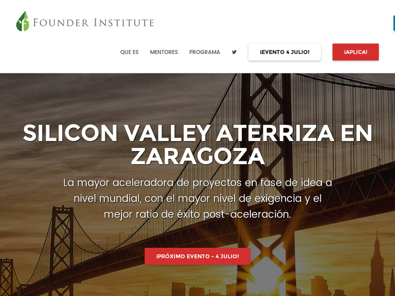 Images from Founder Institute Zaragoza