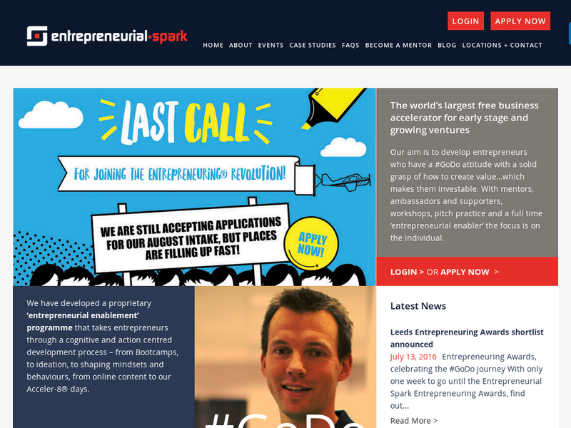 Images from Entrepreneurial Spark