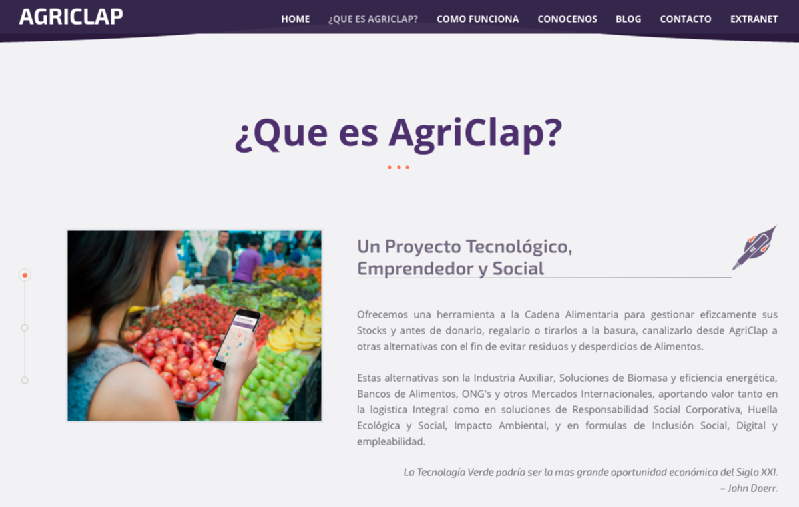 Images from AgriClap