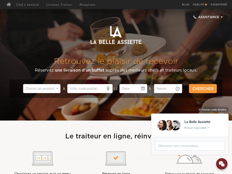 Images from La Belle Assiette