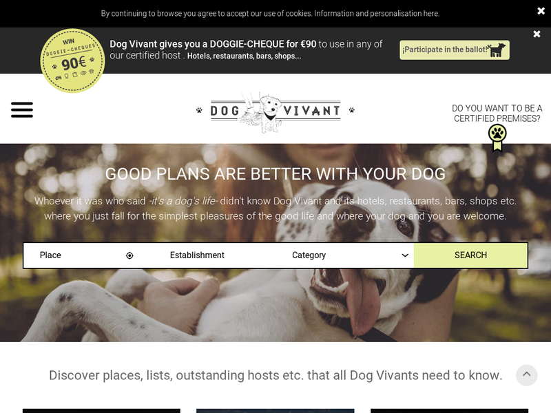 Images from Dog Vivant