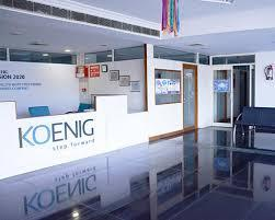 Images from Koenig Solutions