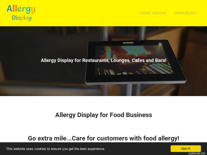 Images from AllergyDisplay.com