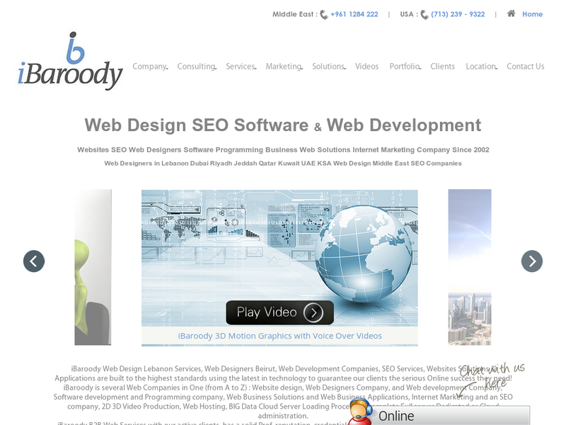Images from iBaroody LLC : Web Design & Web Development Lebanon