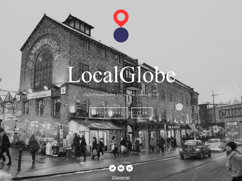 Images from LocalGlobe