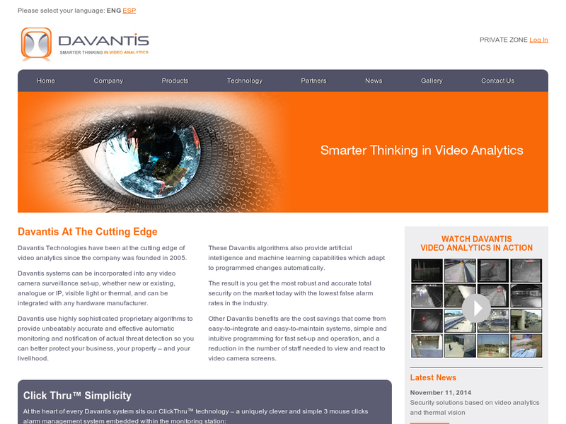 Images from Davantis Technologies