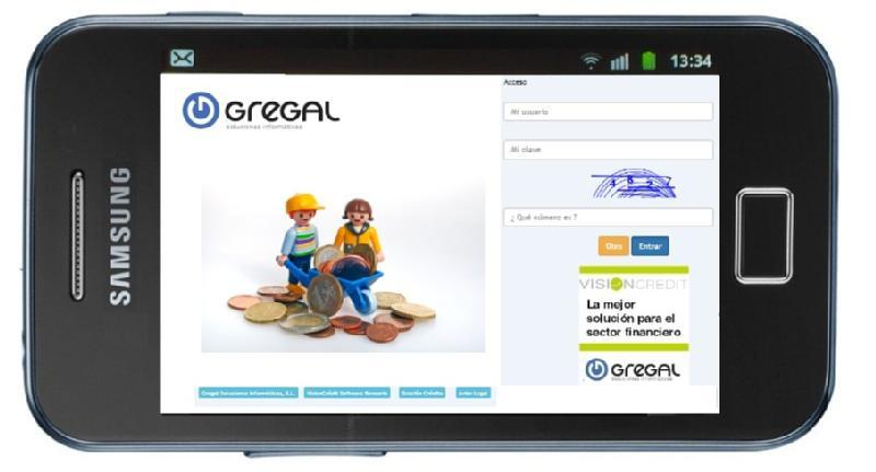 Images from VisionCredit Fintech - Gregal Soluciones Informáticas