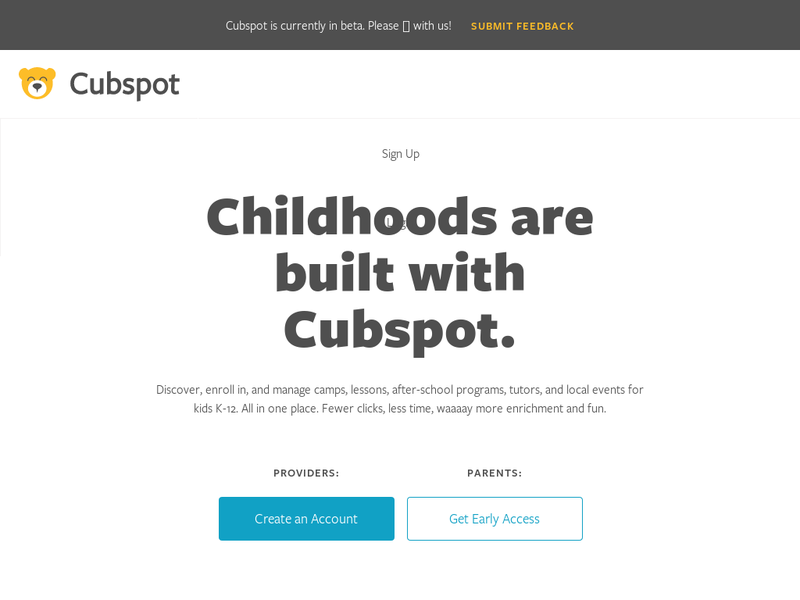 Images from Cubspot