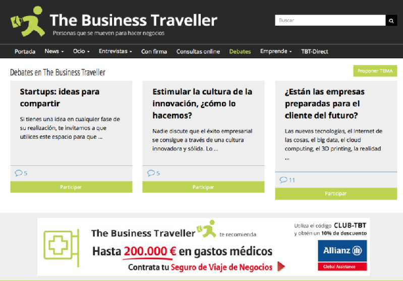 Images from The Business Traveller
