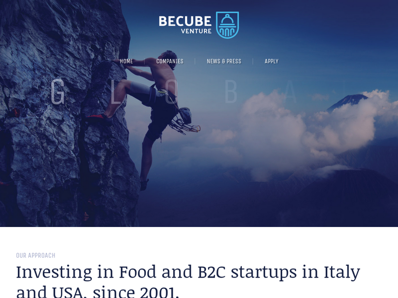 Images from BeCube Venture
