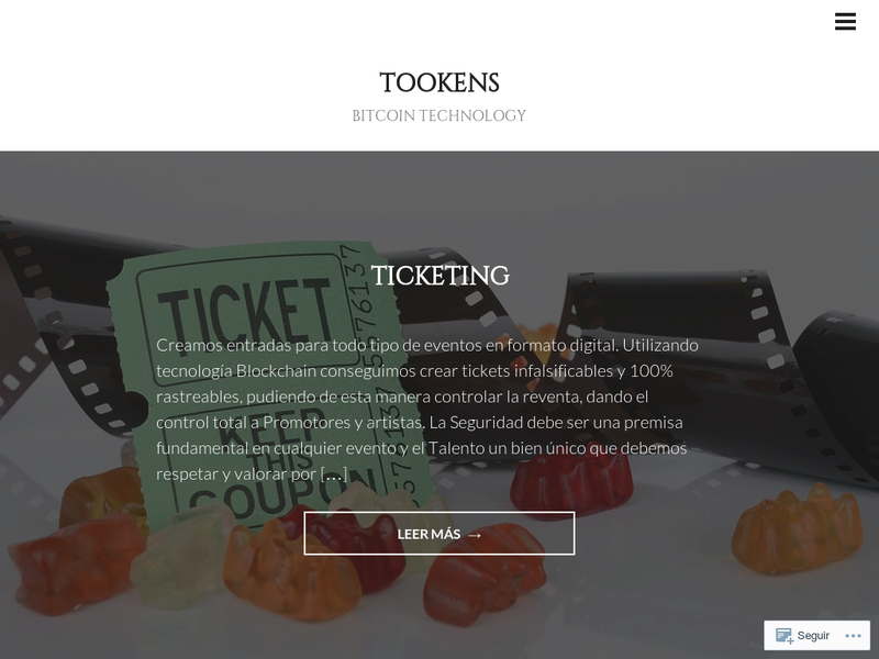 Images from Tookens Blockchain Technology SL