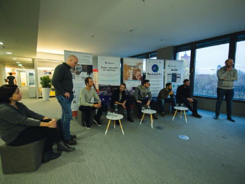 Images from Techcode Berlin Accelerators