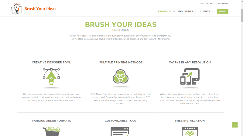 Images from Brush Your Ideas