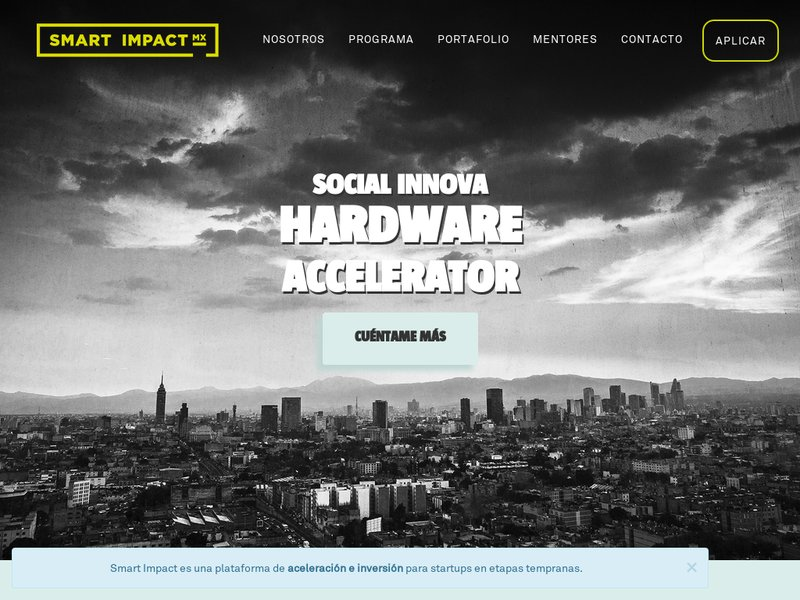 Images from Smart Impact Accelerator
