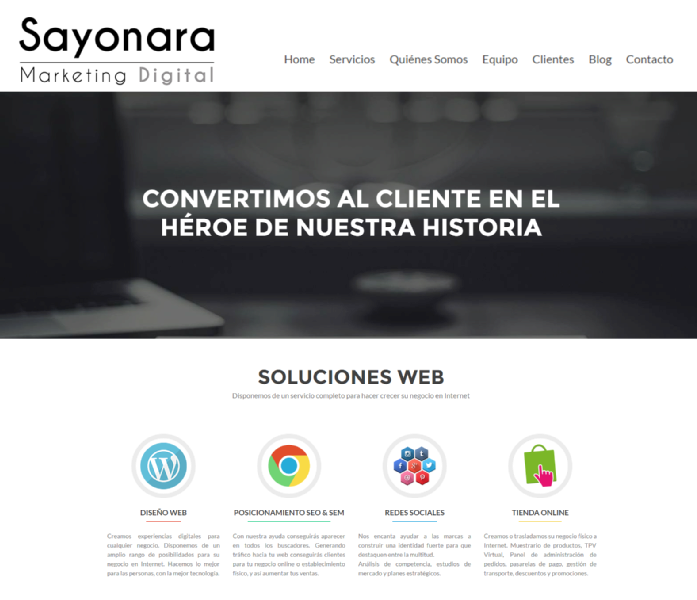 Images from Sayonara Marketing Digital