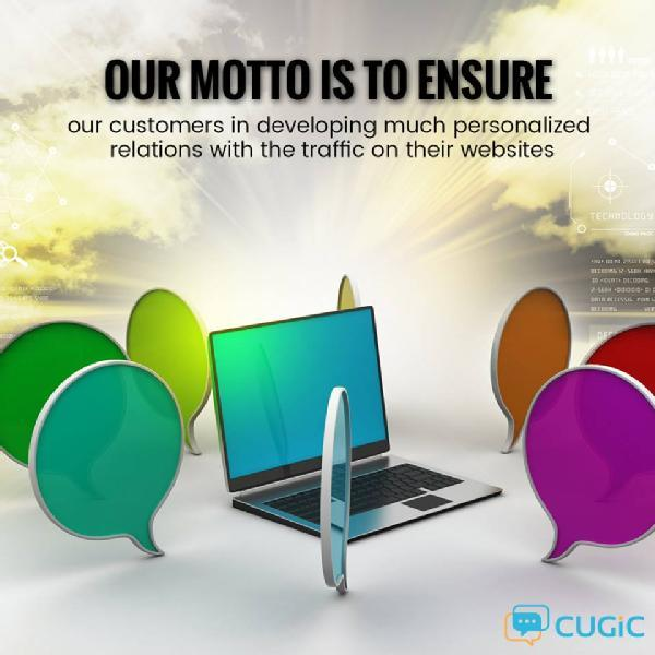 Images from Cugic Live Chat Software