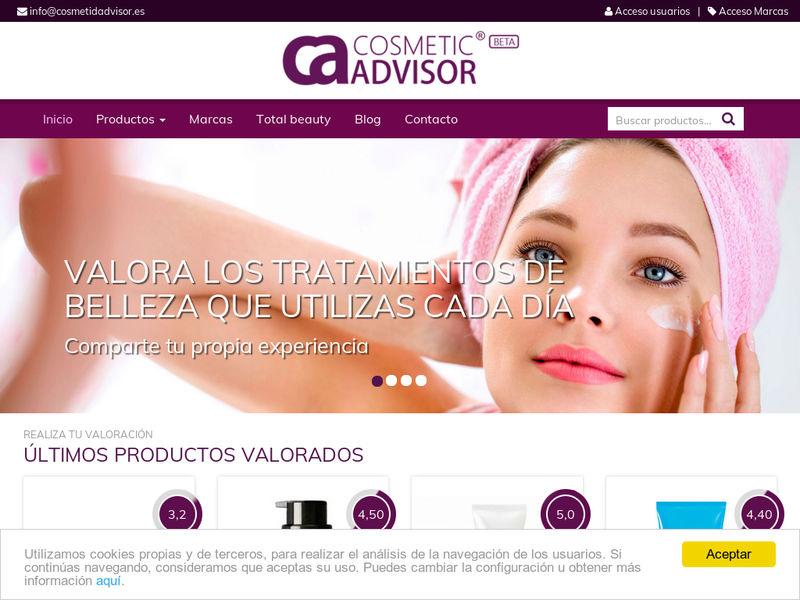 Images from Cosmetic Advisor