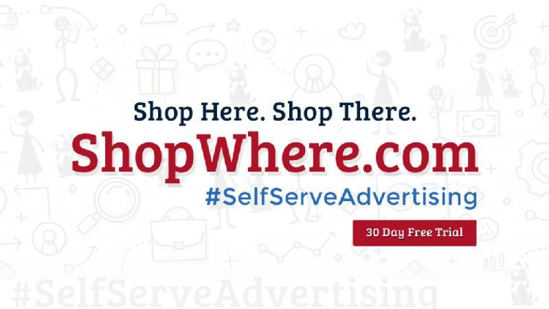 Images from ShopWhere - Self Serve Advertising Platform