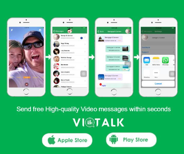 Images from Viotalk Video messenger IM