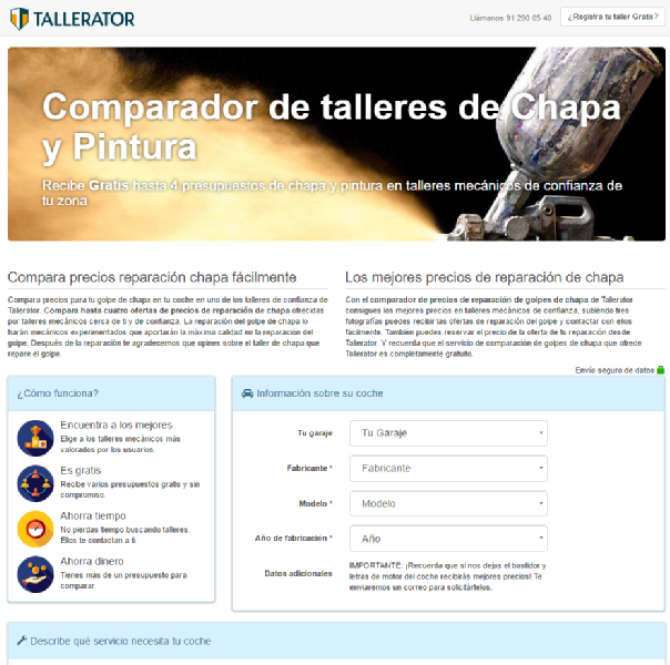 Images from Tallerator