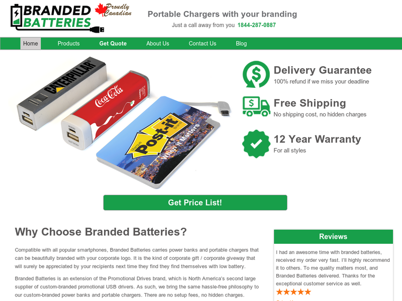 Images from Branded Batteries