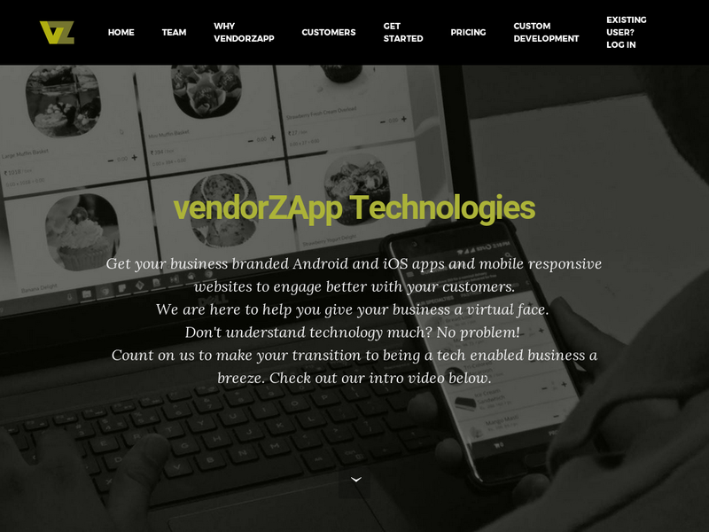Images from VendorZApp