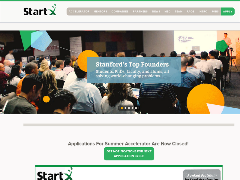 Images from StartX
