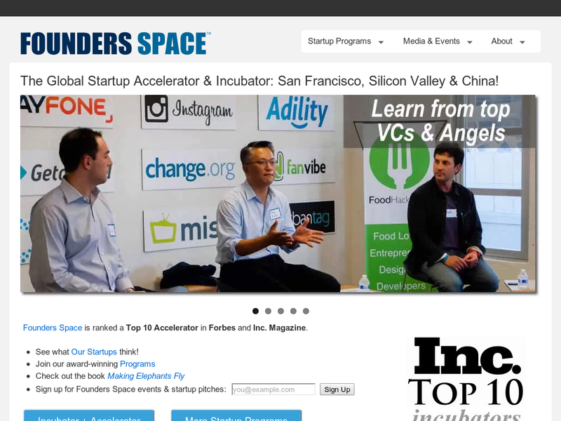 Images from Foundersspace