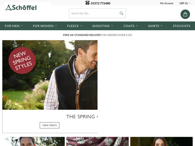 Images from Schoffel Countrywear