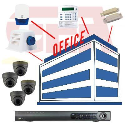 Images from security alarm systems