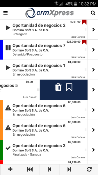 Images from crm Xpress®