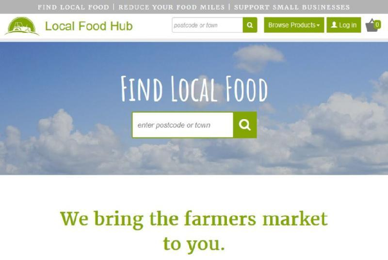 Images from Local Food Hub UK