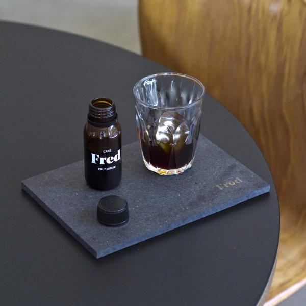 Images from Fred cold brew