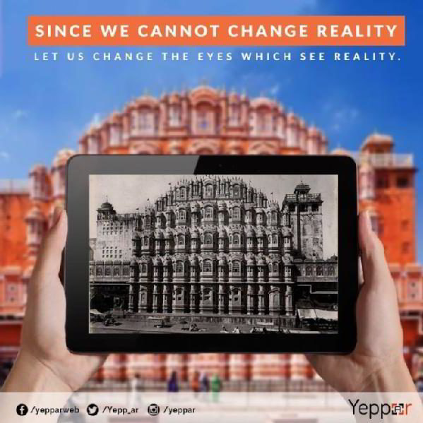 Images from Yeppar - Augmented Reality Technology