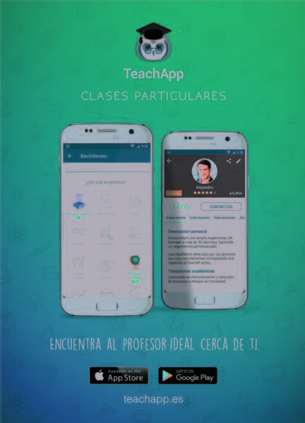 Images from TeachApp Clases Particulares